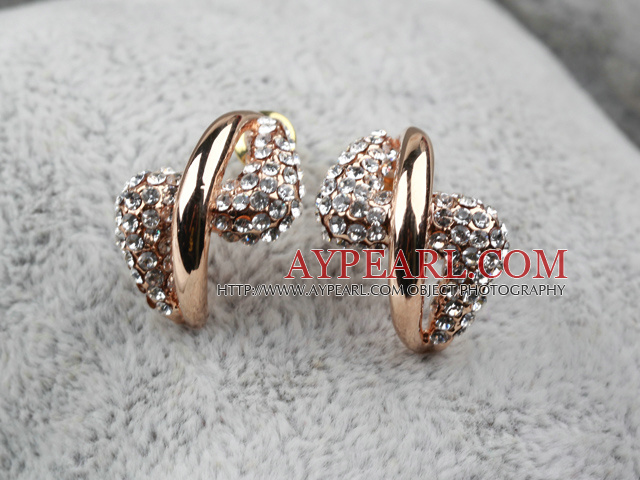 Fashion Style Irregular Shape Gold Plated Hypoallergenic Studs Earrings