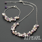 Wholesale pearl crystal set