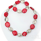 et corail necklace bracelet set bracelet collier serti