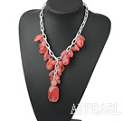 Wholesale cherry quartz necklace