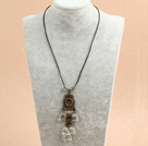 Wholesale biwa pearl and srystal necklace