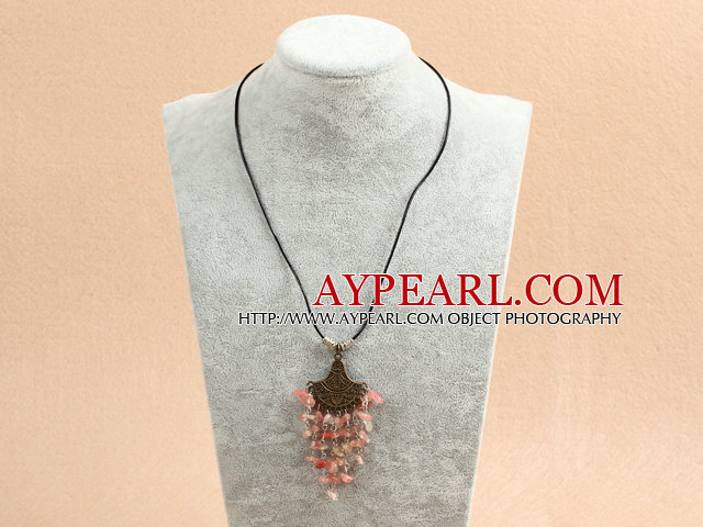 Single Strand Flat Round Visional Agate Necklace with Moonlight Clasp
