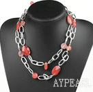 Wholesale cherry crystal necklace