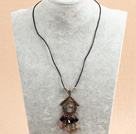 Wholesale lovely amethyst necklace with extendable chain