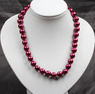 Wholesale faceted Brazil agate necklace with moonlight clasp