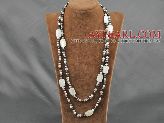 de la mode et shell necklace collier de coquillages