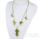 Wholesale South Korea jade necklace with extendable chain