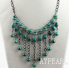 Wholesale admirably phoenix stone necklace with extendable chain