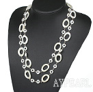 Wholesale fashion costume jewelry white lip shell necklace