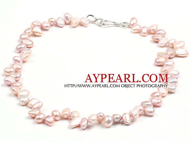 Special Design Natural Light Purple Freshwater Pearl Necklace