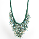 Classic Design To Strands Hvit Top Boret FW Pearl Necklace