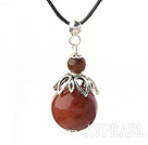 Wholesale Classic Design Agate Pendant Necklace with Adjustable Chain