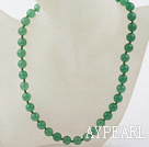 Classic Design 10mm Round Aventurine Beaded Necklace