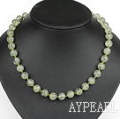 Wholesale Classic Design 10mm Round Grape Stone Beaded Necklace