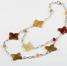 ree colored jade necklace drei farbigen Jade Halskette