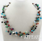 Wholesale Assorted Multi Color Multi Stone Necklace