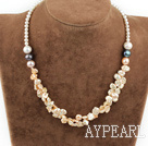 Wholesale 17.5 inches renewable pearl necklace with lobster clasp