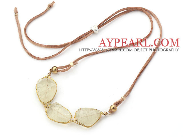 simple and fashion agate necklace with extendable chain