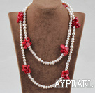 al perla lung style necklace stil colier