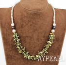 Wholesale 17 inches renewable pearl necklace with lobster clasp