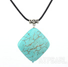 turquoise pendant/necklace with extendable chain