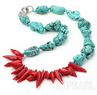 ibale, red coral necklace roşu coral colier