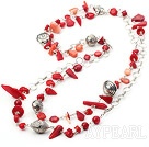 ver charm beaded farmec Tinet argint margele necklace colier