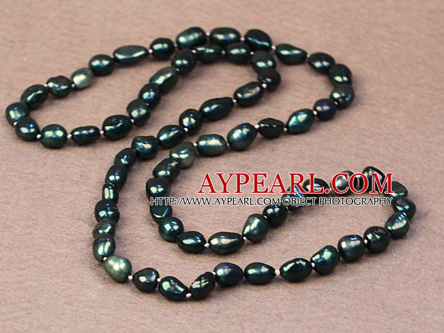 Long Style Crystal and Agate and Pink Jade Necklace