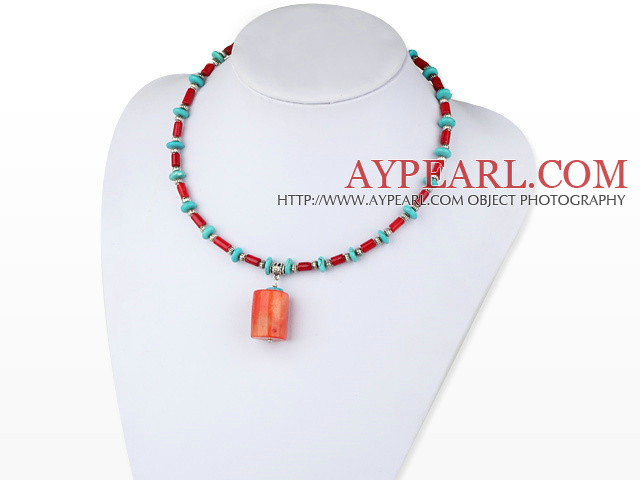 necklace with lobster collier de corail de homard clasp fermoir