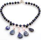 natural amethyst necklace with extendable chain