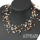 Wholesale fancy pearl necklace with lobster clasp