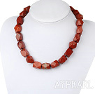 Wholesale red jasper necklace