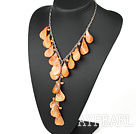 Wholesale Natural Freshwater Pearl And Shell Y Shape Necklace
