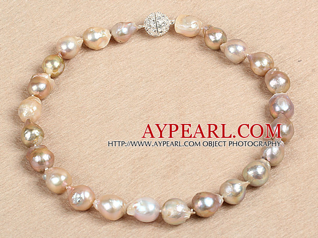 Classic Style Natural B Grade Nuclear Pearl Party Necklace
