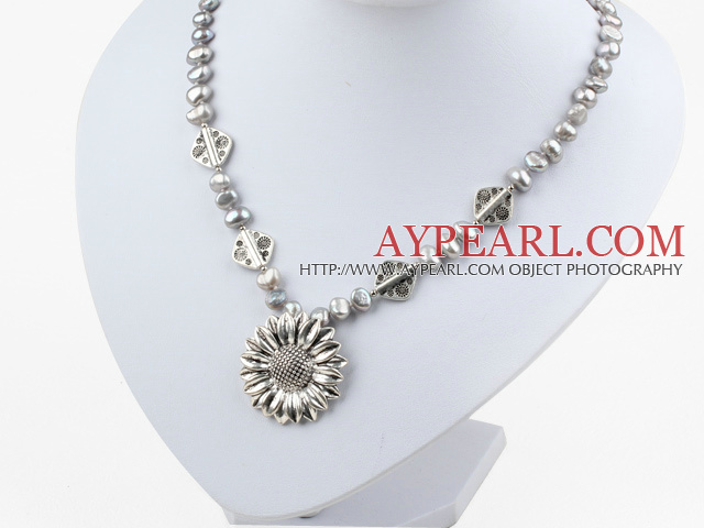 flower pendant necklace with λουλούδι κρεμαστό κόσμημα κολιέ με lobster clasp καρφίτσα αστακό