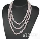 Wholesale Rose quartz necklace