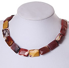 vitelline stone necklace