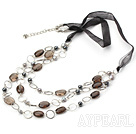 Wholesale fashion smoky quartze necklace