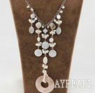shell collier de perles