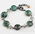 Wholesale Classic Design Longxue Stone Bracelet with Lobster Clasp
