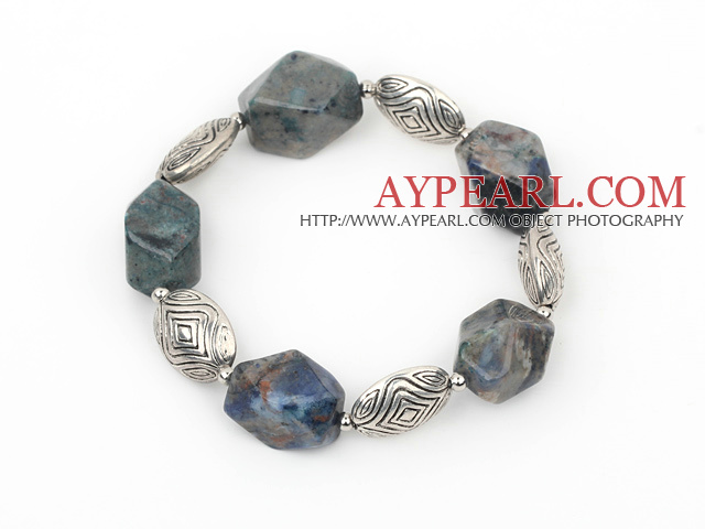 simple sodalite elastic bracelet