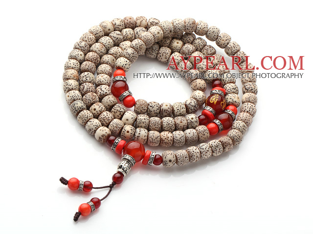 Assorted White Gray Pink Brown Color Shell Beads Wrap Bangle Bracelet