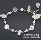 ed quartz bracelet with rutilated kvartsi rannekoru lobster clasp hummeri hakaan