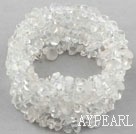 Wholesale Long Style Clear Crystal Wrap Bangle Bracelet