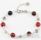 fancy agate bracelet with extendable chain