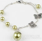 acrylic beads bracelet with extendable chain