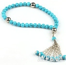 Turquoise Prayer beaded Bracelet ( Rosary Bracelet )