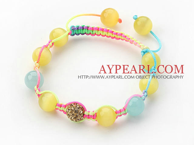 Multi Strand Pink Freshwater Pearl and Colored Quartz Bracelet