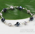 pearl crystal bracelet