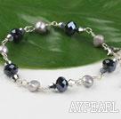 Wholesale pearl crystal bracelet